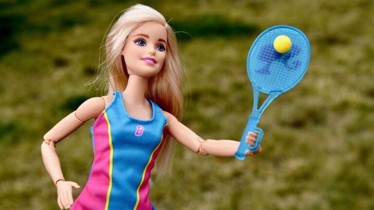 barbie tenis