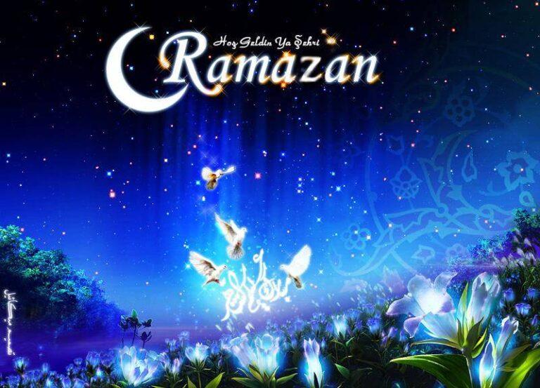 Hoşgeldin Yâ Şehr-i Ramazan