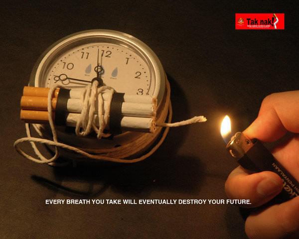 Sigara Kullanımına Karşı Afişler 1