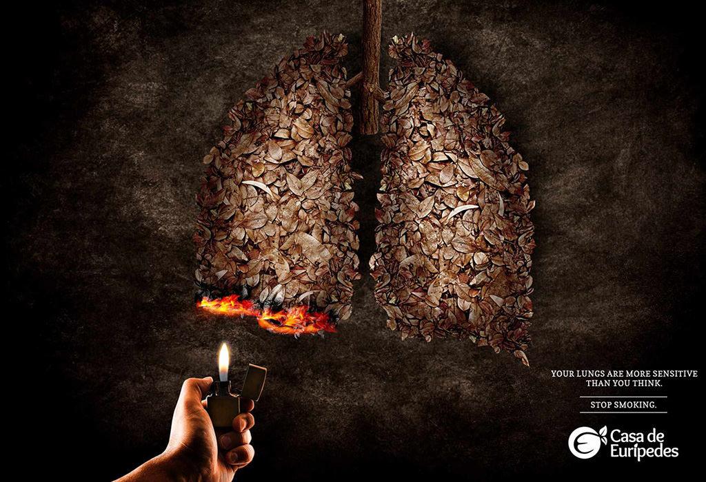 Sigara Kullanımına Karşı Afişler 10