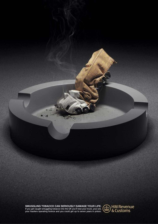 Sigara Kullanımına Karşı Afişler 2