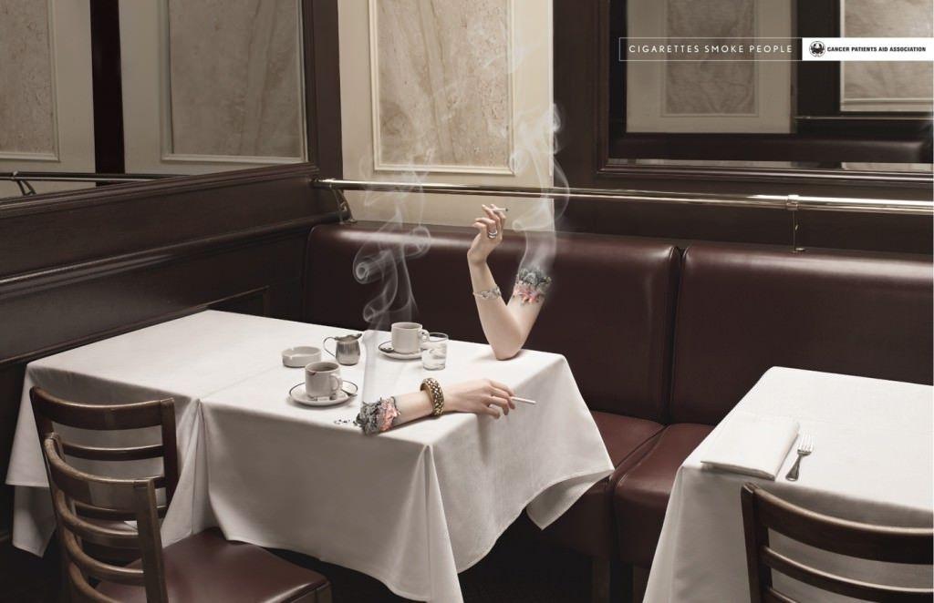 Sigara Kullanımına Karşı Afişler 4