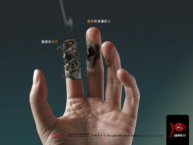 Sigara Kullanımına Karşı Afişler 6