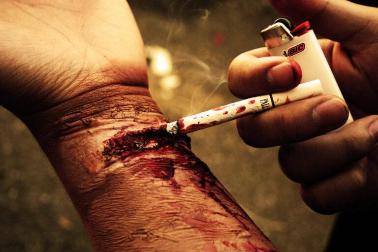 Sigara Kullanımına Karşı Afişler 7