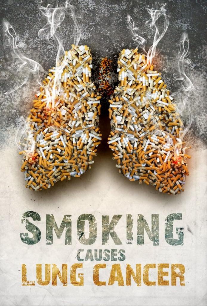 Sigara Kullanımına Karşı Afişler 9