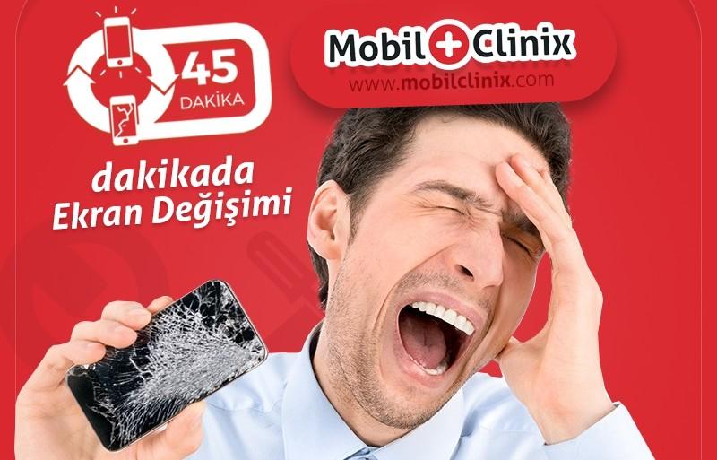 MobilClinix Ekran Değişimi Tamiri