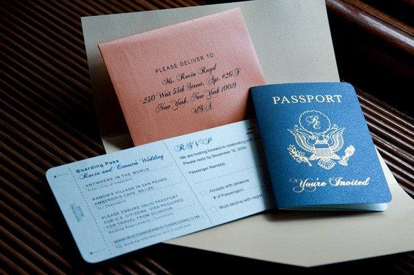 Pasaport Davetiye