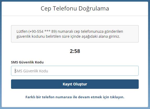 Bitlo Telefon Doğrulama