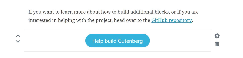 Gutenberg Buton