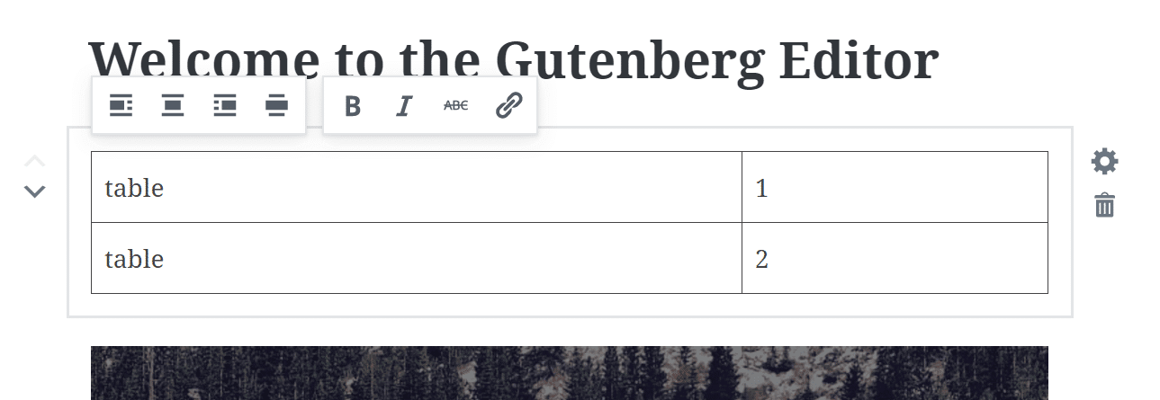 Gutenberg Tablo